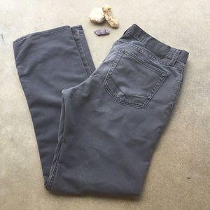 Men's Vans Jeans, Gray, Straight fit